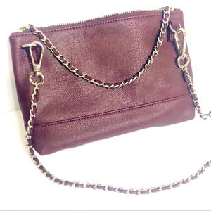 Leather Purse Crossbody Chain handle bag Clutch M